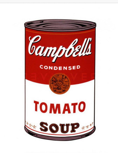 Why Andy Warhol, when it comes to soup?