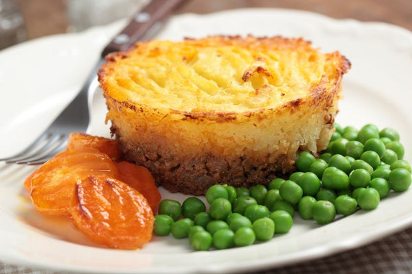 Lamb, Lentil and Potato Pie