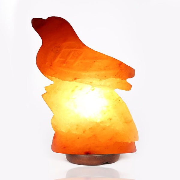 Bird Himalayan Rock Salt Lamp