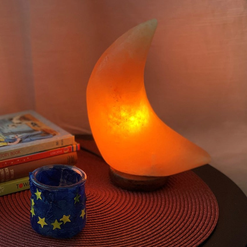 Moon Himalayan Salt Lamp