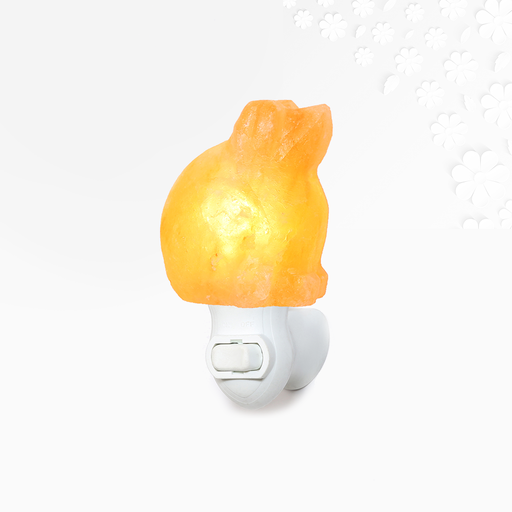 Himalayan Salt Dog Night Light