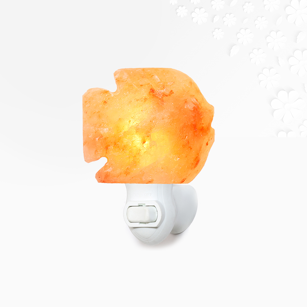 Himalayan Salt Fish Night Light