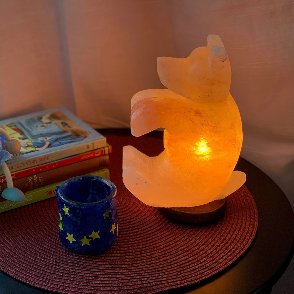 Bear Himalayan Salt Lamp