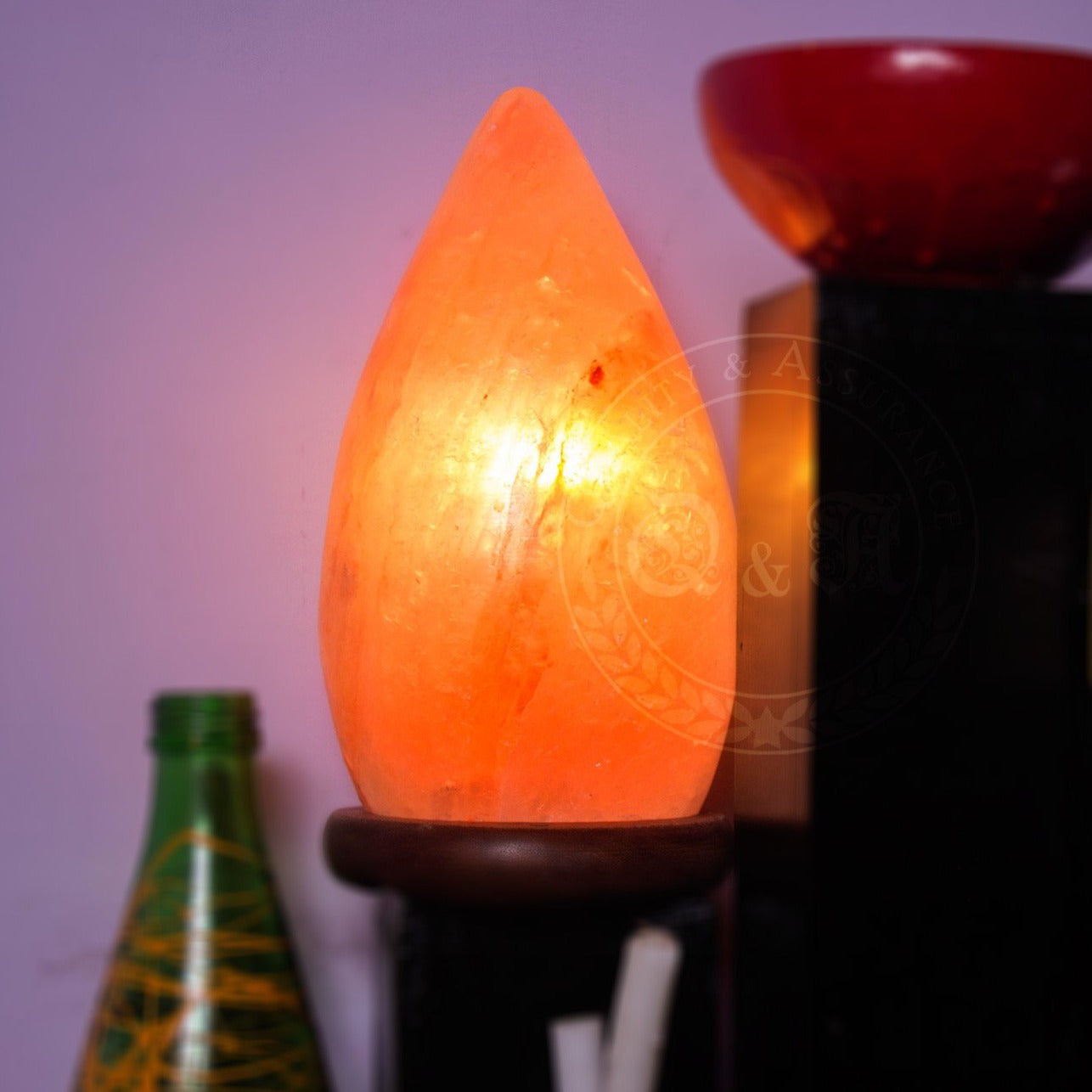 Q&A Himalayan Water Drop Salt Lamp - Q & A Himalayan Salt - 1