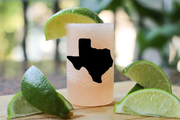 TEXAS Home State Himalayan Salt Shot Glass