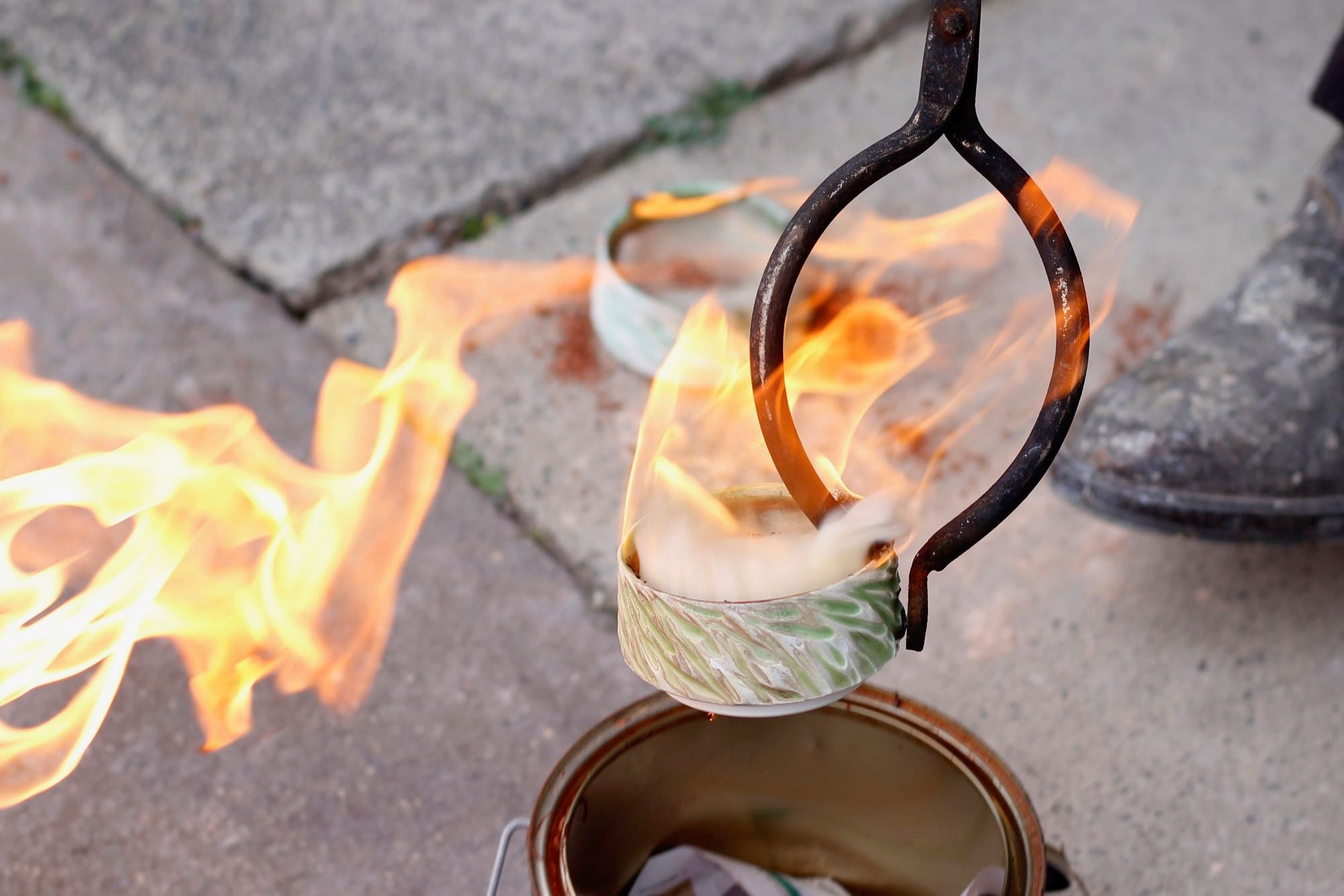 The magic of Raku firing