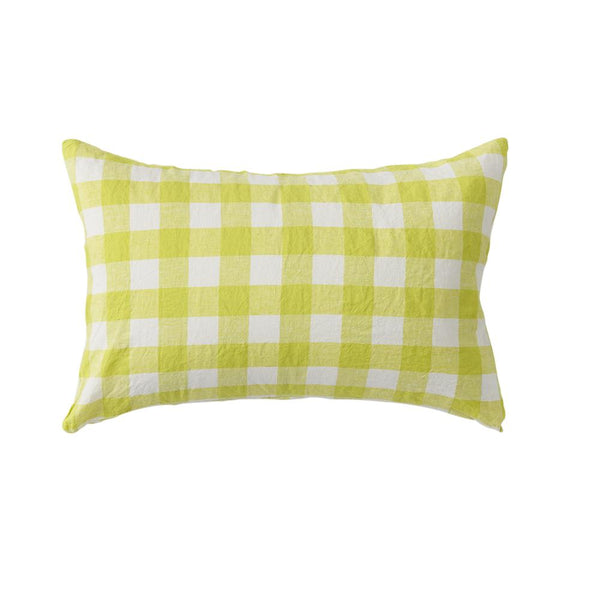 Limoncello Gingham | Standard Pillowcases