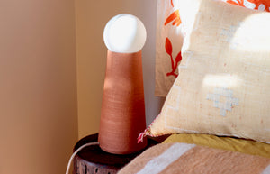 Table Lamp | Large | Terracotta Raw