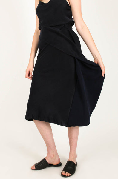 Skylar Navy Skirt