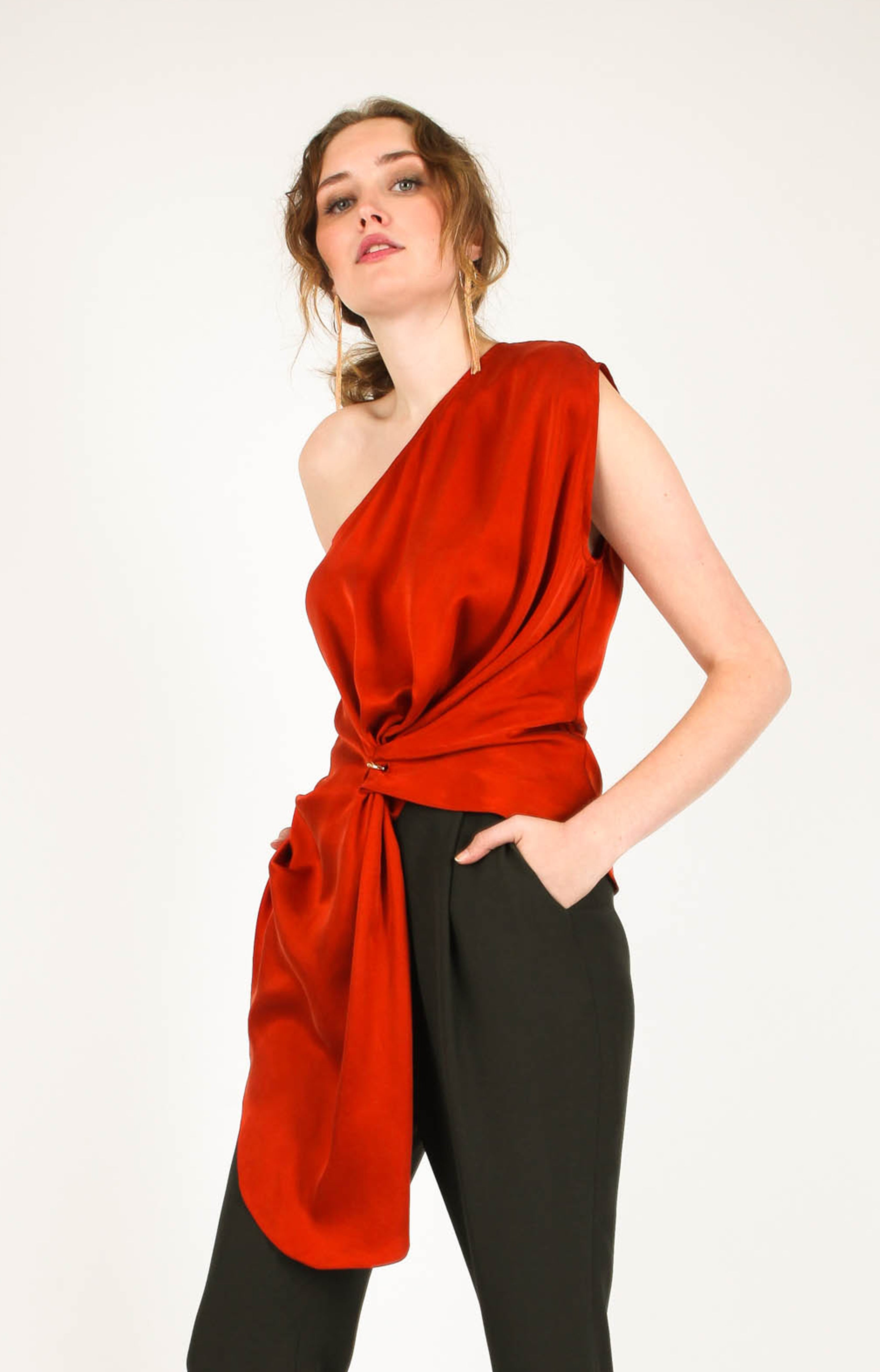 Terra One Shoulder Top