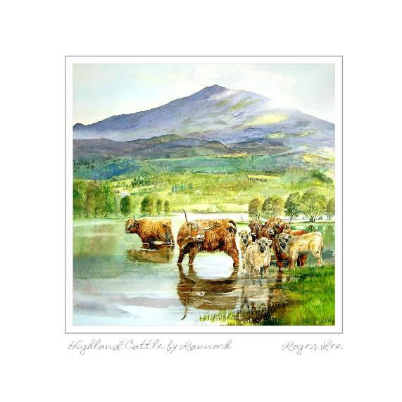 Highland Cattle by Rannoch - Rogerleeart