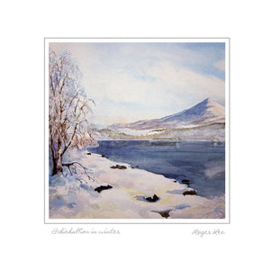 Schiehallion in Winter - Rogerleeart