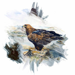 Golden Eagle brushstroke range - Rogerleeart