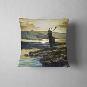 Stagat Sunset Cushion - Linen - Rogerleeart