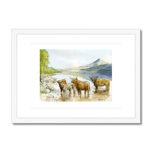Framed & Mounted Print - Rogerleeart