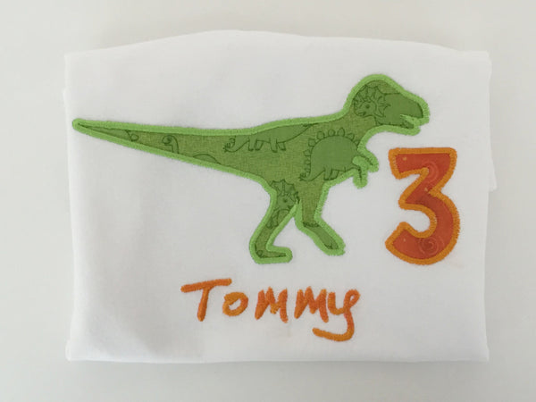 T-Rex Birthday Shirt-Toddler Sharp Plant Designs Shirts Woodbridge