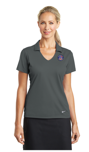 637165 Nike Ladies Dri-FIT Vertical Mesh Polo