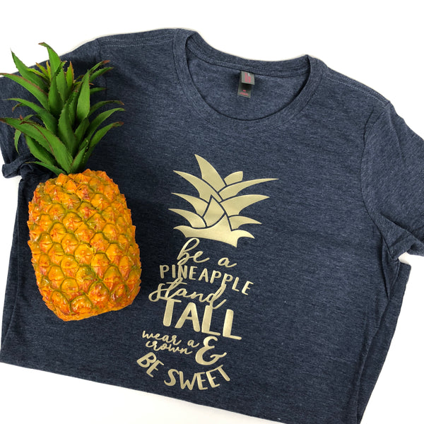 Be A Pineapple Sharp Plant Designs Graphic Tee Woodbridge