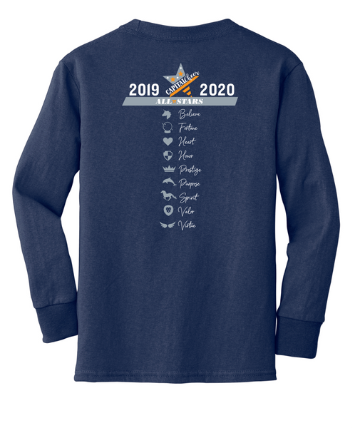 2019-2020 Team Adult Long Sleeve