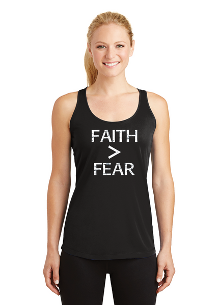 Faith greater than Fear Competitor Tank