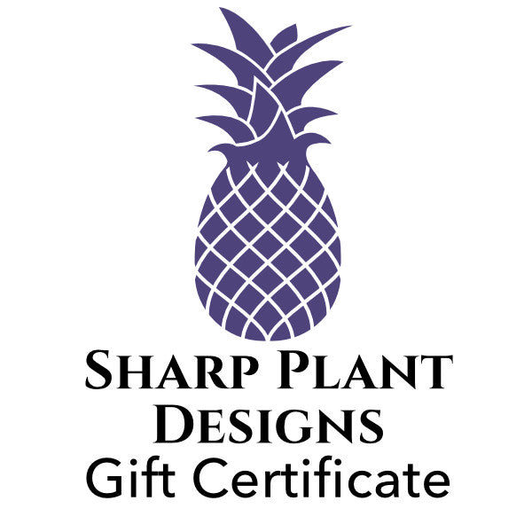 Gift Certificate Sharp Plant Designs Gift Certificate Woodbridge