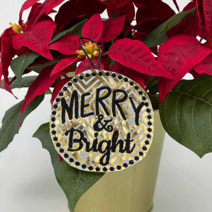 Merry & Bright Ornament