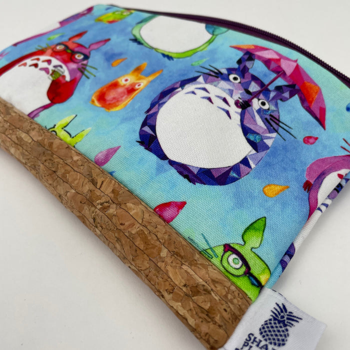 Totoro Zippered Bag