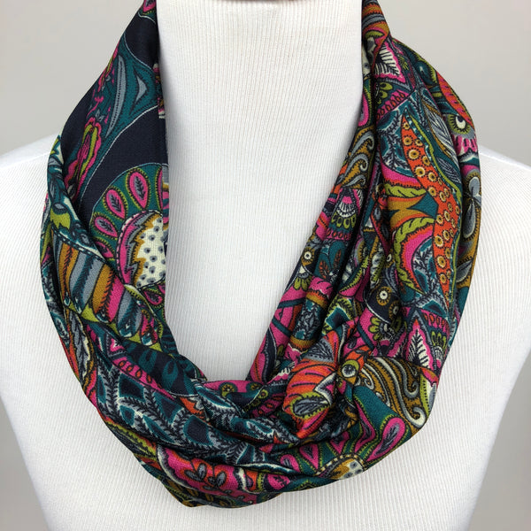 Paisley Infinity Scarf Sharp Plant Designs Scarf Woodbridge