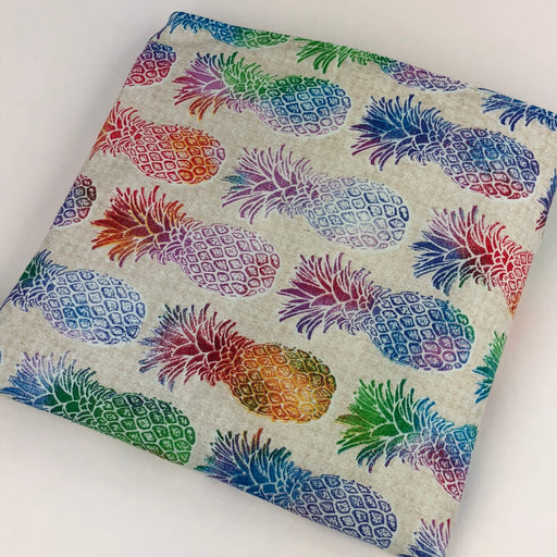Colorful Pineapple Reusable Snack Bag Sharp Plant Designs Snack bags Woodbridge