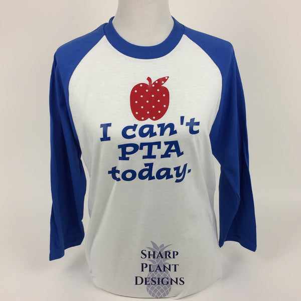 I can't PTA Today Sharp Plant Designs Shirts Woodbridge