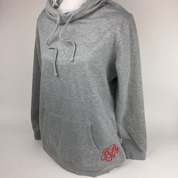 Monogrammed Hoodie Sharp Plant Designs Sweatshirt Woodbridge