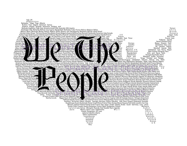 We The People Tee Sharp Plant Designs Graphic Tee Woodbridge