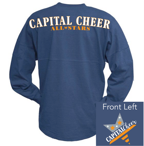 Capital Cheer Relaxed Jersey Long Sleeve