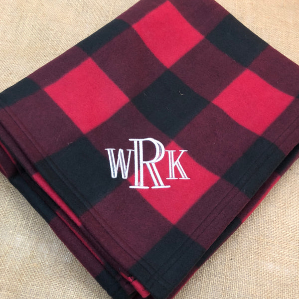 Buffalo Plaid Blanket Sharp Plant Designs  Woodbridge