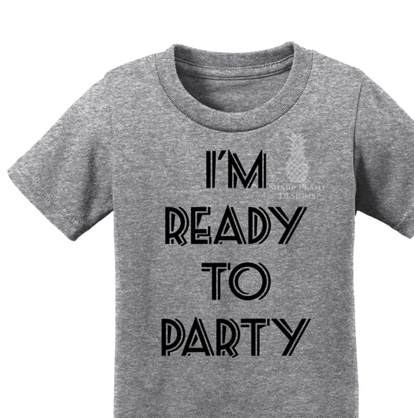 Ready To Party Kids Graphic Tee