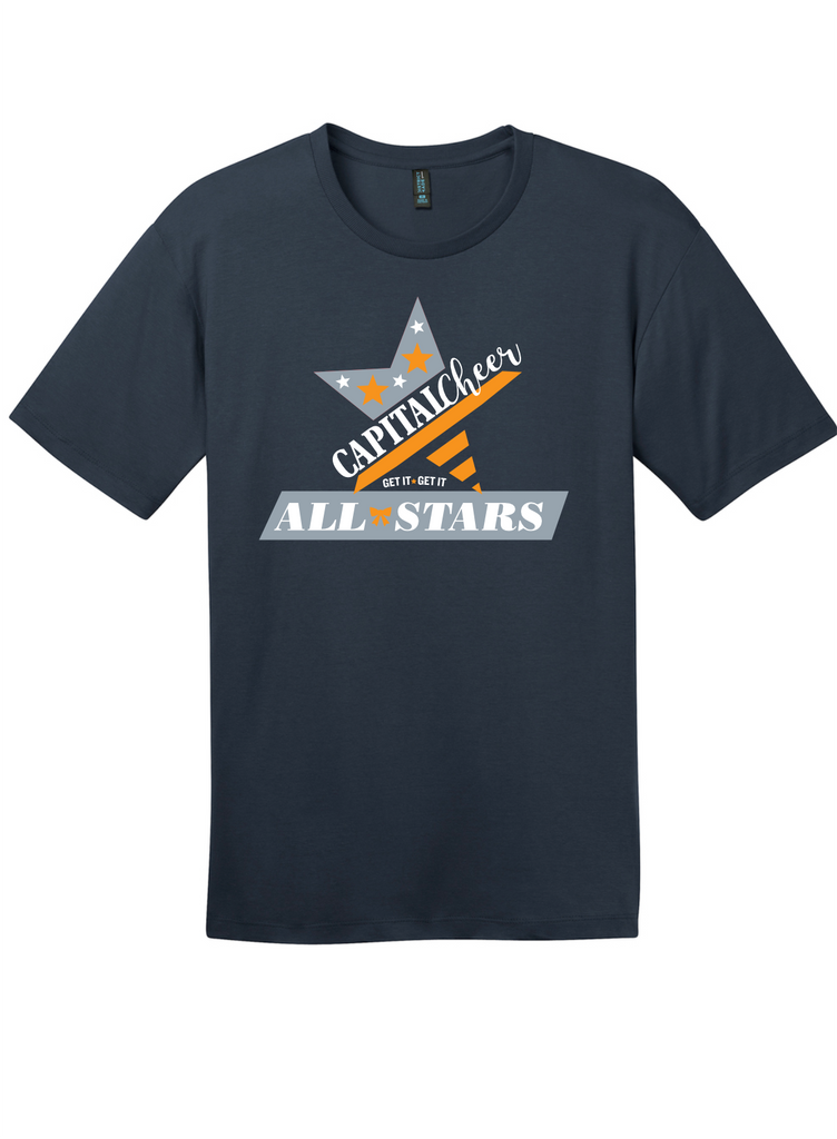 Adult Capital Cheer Shirt