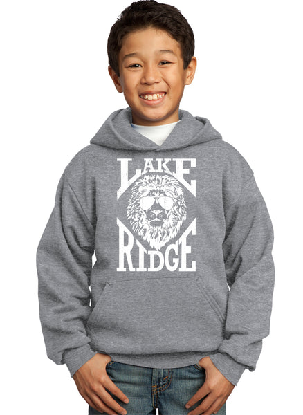 Youth Hooded Sweatshirt LRES