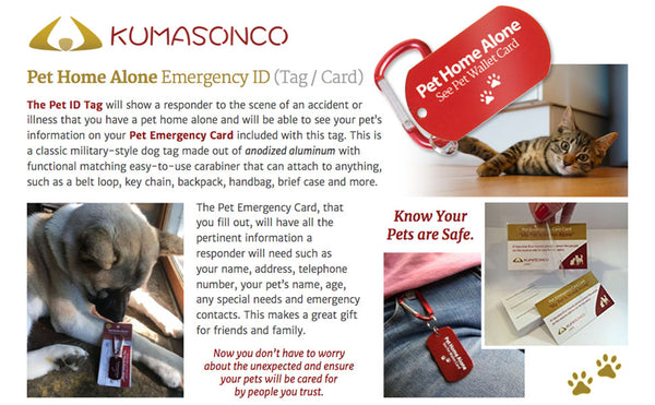 Emergency ID Tag