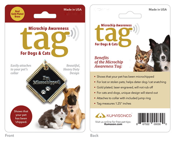 microchip awareness pet id tags for dogs and cats kumasonco
