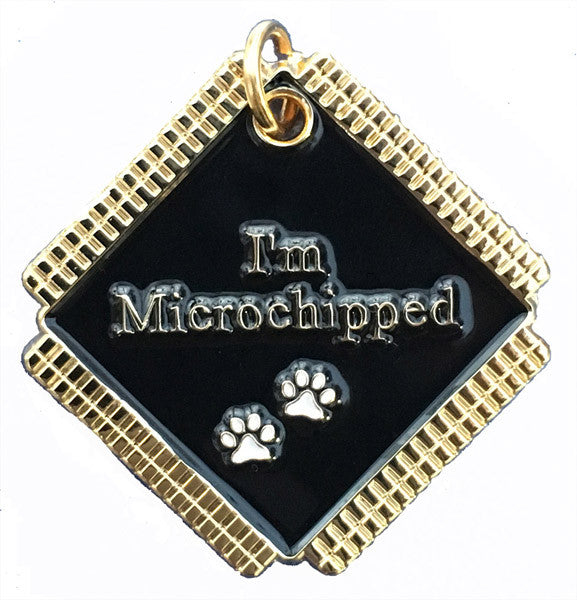 Microchip Awareness Pet ID Tags for Dogs and Cats