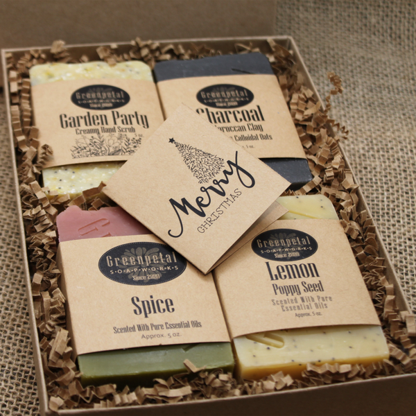 GIFT BOX  OF 4 SOAP