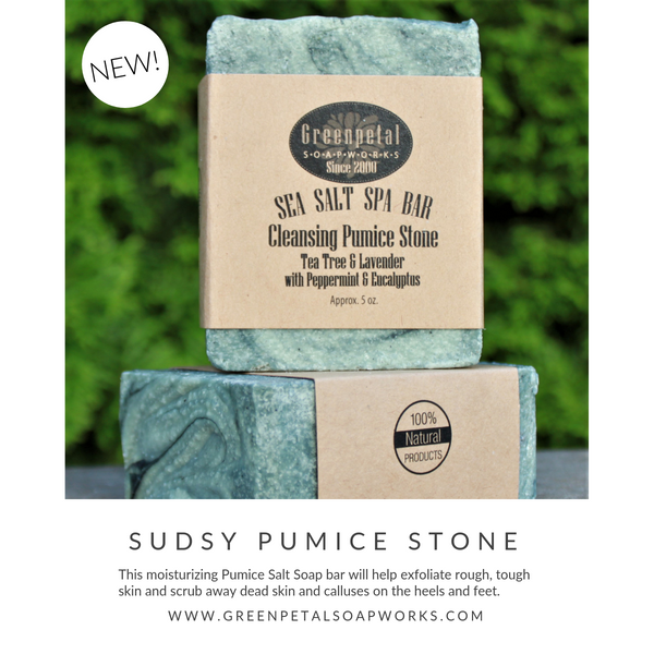 SEA SALT MINERAL SPA BAR - Sudsy Pumice Stone