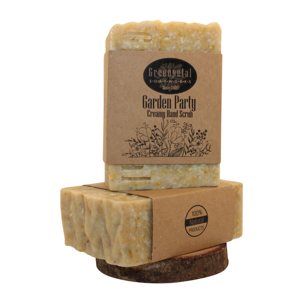 GARDEN  PARTY  -  Creamy Hand Scrub