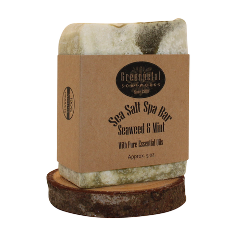SEA SALT MINERAL SPA BAR - Seaweed & Mint