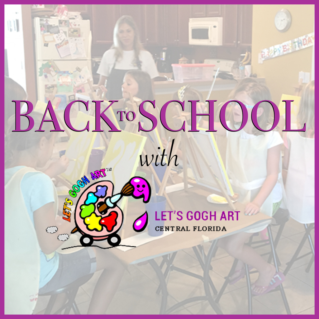 Back to School with Lets Gogh Art