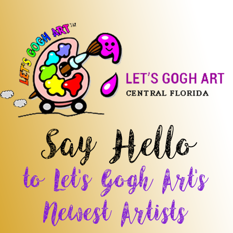 Say Hello to Let's Gogh Art's Newest Artists!