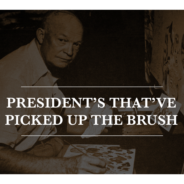 Presidents That Have Picked Up the Brush