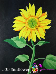 sunflower painting lets gogh art