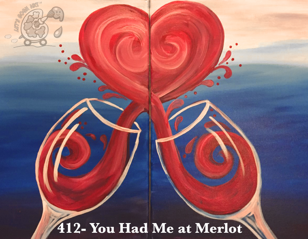 412 you had me at merlot painting