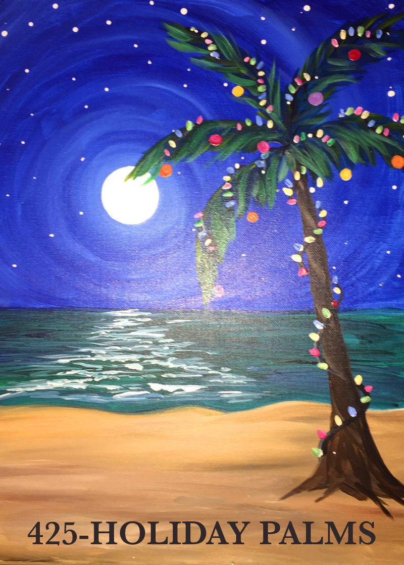 Stoneybrook West | Holiday Paint and Wine Night | Nov. 29th at 7 PM